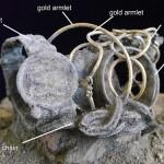 Một số đồ trang sức được tìm thấy ở khu vực khai quật.