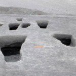 Các hầm mộ ngầm được phát hiện tại nghĩa địa Meroitic ở Dangeil, Sudan.